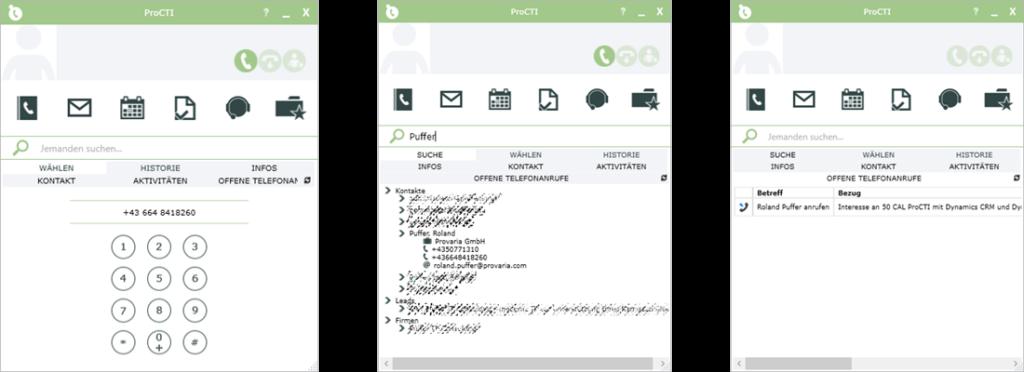 ProAddon ProCTI Computer Telefon Integration